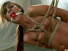 tied hanged and whipped by her nurse