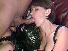 blowjob Fun with slave