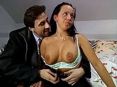 German girl Barbara talked into fucking at a motel