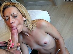 Anita loves big and thick cocks, and her pussy gets wet just thinking about it. So today, Anita Ribeiro will eat cock until she feels satisfied.