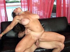 Anita cannibal get some from her man's beef stick