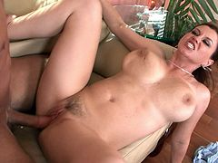 Sara Stine rides on the dick of her lovely friend