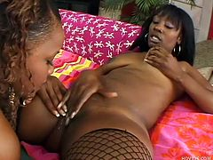 Chocolate sluts Vida and Dior are here for our pleasure and these bitches are up to no good again. They give their best to satisfy us with their sex skills and offer us a hot show. Watch these cunts playing with their big black asses and getting down and dirty by licking pussy just like two cheap whores