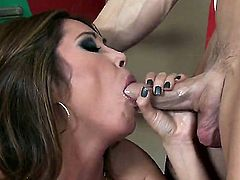 Asian girls like big tit model Kianna Dior are ready to get down on their knees and gag on hard long boners. This dude is well hung and loves to fuck real hard.