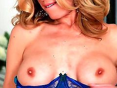 One of a kind angel Randy Moore wants to show off her sexy lingerie in front of the camera and not to mention that she is ready to finger her meat hole deep!