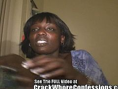 Beautiful mature ebony whore is being interviewed. She talks about her life, her anecdotes and her rough sexual life!