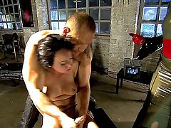 Katsuni, Melissa Lauren, Nacho Vidal and Rocco Siffredi are spending unforgettable time in this extremely hot bondage scene. See what guys and Asian gal do with Melissa.