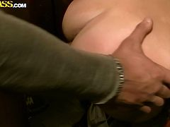 Horny couple cloisters in the public toilet where an aroused dude drills tasty vagina of mesmerizing Russian hussy from behind before she welcomes his slim dick in her mouth for a blowjob.