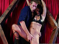 Lana Violet is a stripper with a fetish