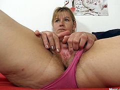 Sizzling ruined granny stimulates her beaver with fingers before another slutty granny joins her to eat her pussy. Later she sticks a strap on into her dirty mouth for a blowjob.