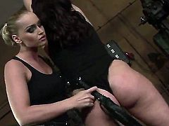 Cool lesbian femdom scene where Humpy Milla gets tortured by Kathia Nobili would bring a lot of delight to you! Kathia is a naughty and merciless mistress that knows how to punish!