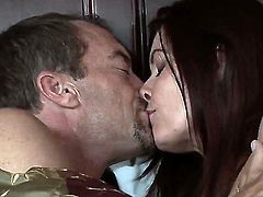 Randy Spears gets the chance to sneak into bed of cool, busty MILF Magdalene St. Michaels, and has a really intensive evening with her tits and matured, wet peach.