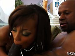 Leilane Leeane is going to be fucked by a huge black cock in the ass and love how it makes her moan with pleasure.