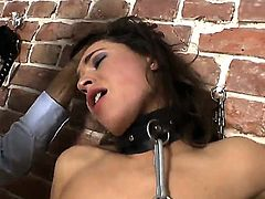 Slutty Savannah Secret likes to be dominated in porn action by hunk Steve Holmes