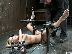 If you're into BDSM then you're gonna love this one as we have the blonde Breanne Benson getting bondage and domination.