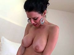 Horny babes Evilyn Fierce and Veronica Avluv are sharing huge cock in wild threesome