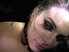 Lesbian hotties Bailey Blue and Sovereign Syre are horny and eager to play dirty