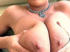 The gigantic boobs of the bodied whore Bella Blaze makes my dick erect. She demonstrates hot blowjob and titjob in the awesome POV scene. She is the famous professional cocksucker!
