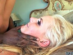 Phoenix Marie is such a slut she's taking a big black cock in her asshole and loving it like nothing else in the world.