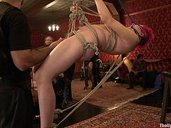 Get a load of this bondage clip where these sexy babes have a great time being tied up and masturbated by their masters.