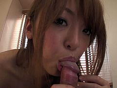 Amazing slim Japanese gal has nice boobs, which will make your mouth water. Whorish chick with sweet tits desires to be fed with cum tonight. So appetizing filth sucks and then rides a dick passionately. You surely need to check her out in Jav HD sex clip to jizz right away.