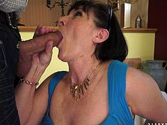 A filthy cock loving granny has found another younger guy that is willing to smash his schlong into her loose vijyajay.