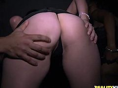 You won't never forget this exciting Reality Kings sex tube video. Hussy drunk slut is ready to suck out all cum. She sends his dick deep in her throat and enjoys the thickness of his dong.