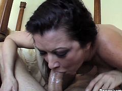 The deep of her throat is amazing as well as her sucking skills. Be ready for unforgettable sex fun together with super sucking sex machine like Raquel DeVine.