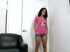 Dillion Harper satisfies mans sexual needs and desires and then gets her lovely face jizz covered