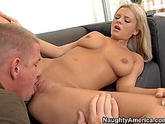 Young Bree Olson gets her clean pussy licked by Jack Benice