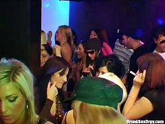 Tainster sex clip will show you what a real party is. Dozen of chicks enjoy clubbing. They get drunk at once and wanna seduce not only men, but kinky gals to demonstrate their fucking skills. Gosh, this orgy party is a dream of any dude.