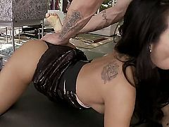 Asa Akira takes interracial sex to the whole new level