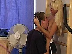 Awesome hot blonde teen fucked