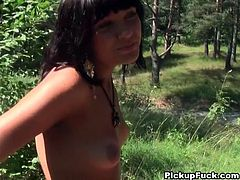 Pretty girls love attention and money, horny boys love making reality sex movies with sexy chicks and don't mind paying for it, Watch this sexy brunette giving blowjob in the forest,She is a real pro at blowjob, which makes this awesome reality porn movie a total must-see!