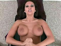 Austin Kincaid spends her sexual energy with throbbing love torpedo in her hands