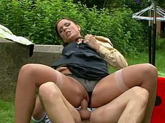 MILF hoe is nailed hard doggy style