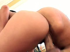 Joey Brass fucks devilishly sexy Alexis Breezes mouth just like mad