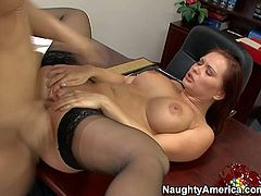 Horny Katja gets her pussy licked