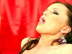 Silvia Saint loses control in lesbian frenzy with Stacy E
