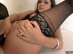 Remy Lacroix is one of those white chicks who likes to be fucked hard. She has tried everything but her favorite position is good old missionary style. This wild interracial sex scene will make you cum and dribble all over your keyboard!