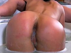 Blonde Audrey Bitoni and lesbian Ahryan Astyn are horny for each other