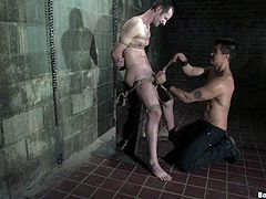 If you like bondage and you like it gay then you should most def check this shit out! Horny gay men being tied up and toyed with!