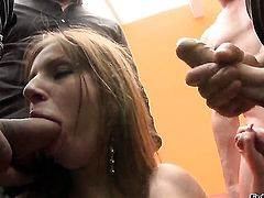 Sabby wants to bang cute Debbie Whites bottom forever after dick sucking