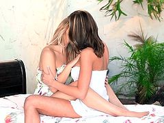 Holy moly, these stunning lesbian hotties are really meant to be naked and spending their efforts licking each other's hot pussies.