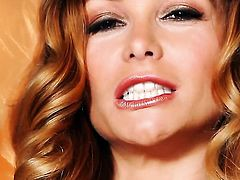 Heather Vandeven makes her sexual fantasies a reality in solo action