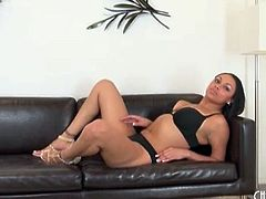Solo Bethany Benz models bra and panties