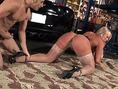 Sex demoness performs X-rated sex scene