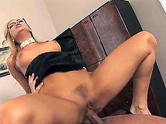 Aleska Diamond and horny fellow are so fucking horny in this oral action