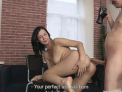Teen in anal POV