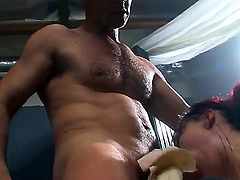 Katsuni gets hard pounded in amazing hardcore porn scene by hunk with massive dick